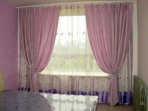 138平米精致型飘窗窗帘效果图