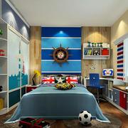 30平米地中海风格卧室装修效果图