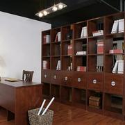 别墅宜家风格书房设计装修效果图