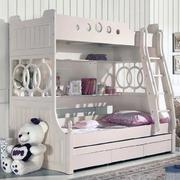 纯白色调儿童房图