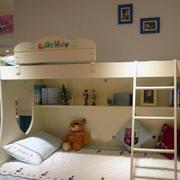 暖色调儿童房设计