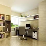 小户型现代简约风格书房装修效果图