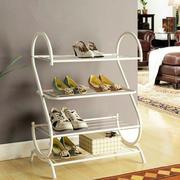 铁艺白色简约鞋架