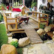 90平米日式小户型客厅入户花园装修效果图