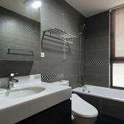 90平米房屋现代简约风格卫生间装饰