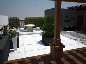农村简约风格中式庭院装修效果图