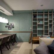 90平米客厅简约风格隐形门装饰