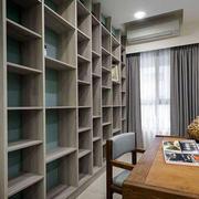 90平米房屋客厅置物架装饰