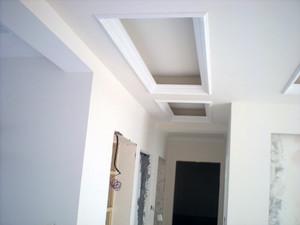 中式风格88平米小户型家装过道吊顶效果图