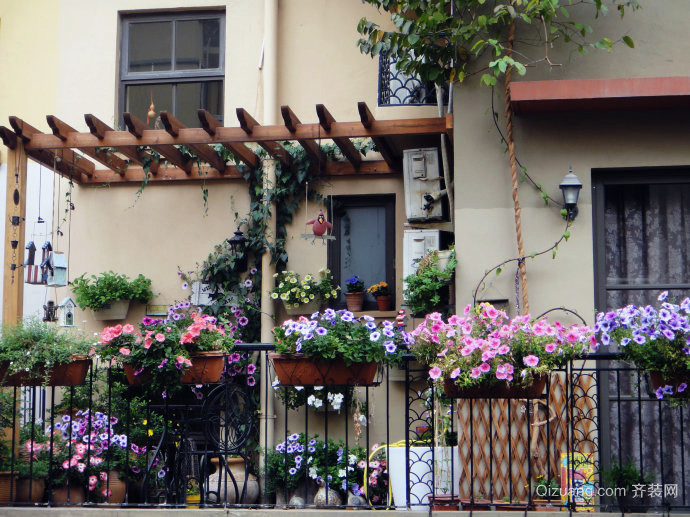 经典北欧大户型100平米别墅客厅入户花园装修效果图