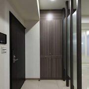 90平米房屋简约风格玄关装饰