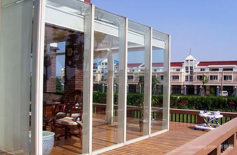 30平米时尚风格阳光房设计装修效果图