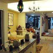 单身公寓客厅吊顶装饰