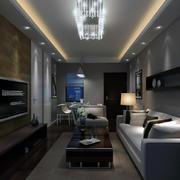 欧式时尚单身公寓装修效果图