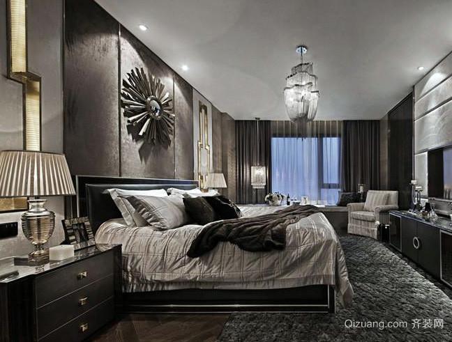 后现代风格单身公寓卧室装修效果图