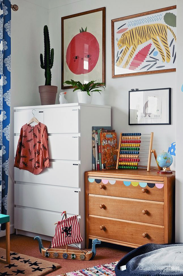 30平米欧式温馨小户型简约儿童房装修效果图