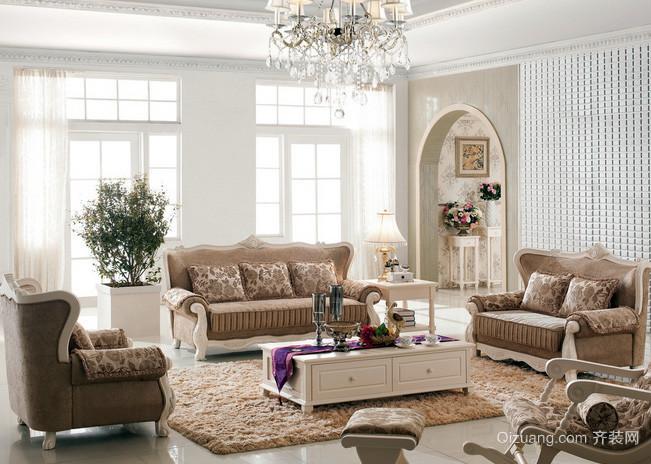 118平米宜家风格欧式沙发效果图片