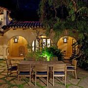 舒适温馨的别墅庭院灯