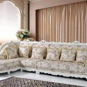 二居室柔软型欧式沙发效果图片