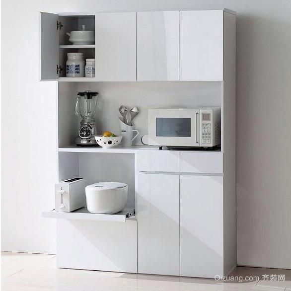 小户型家居厨房实用储物柜装修效果图片