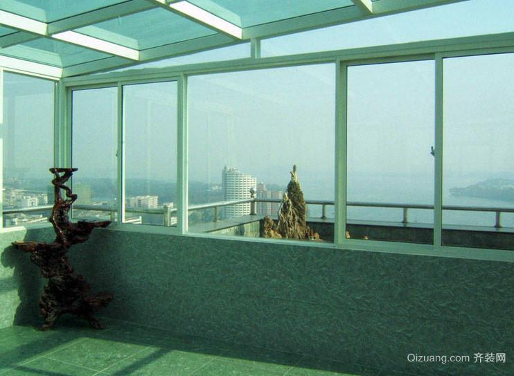 别墅敞亮型阳光房设计装修效果图