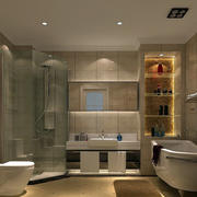 单身公寓简欧风格卫生间装饰