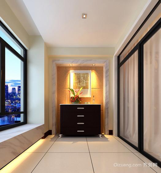 单身公寓时尚风格阳台装修效果图