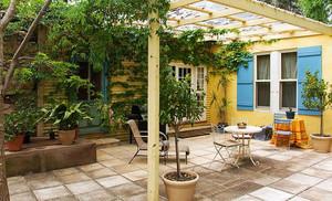 田园风格乡村庭院设计效果图