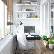 22平米简约小户型经典公寓书房装修设计效果图