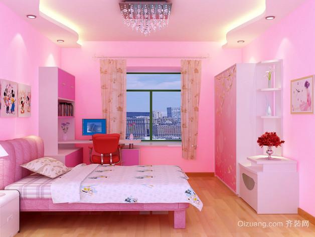 单身公寓自然风格卧室装修效果图
