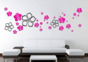 精美现代小户型家居墙贴纸装修效果图