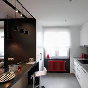 复式楼小厨房吧台