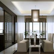 别墅豪华型餐厅吊顶效果图