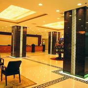 大型国际酒店简欧风格奢华前厅装饰