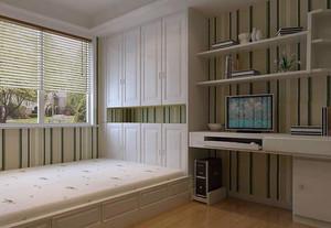 单身公寓舒适型榻榻米装修效果图