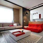 复式楼客厅沙发图片