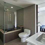 小户型主卧室卫生间欣赏