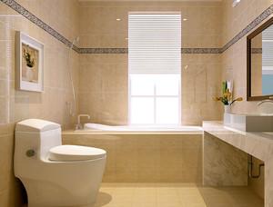 美式简约风格三室两厅装修效果图