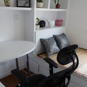 三室两厅简约风格书房榻榻米装饰