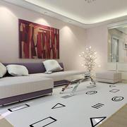 三室两厅简约客厅装饰