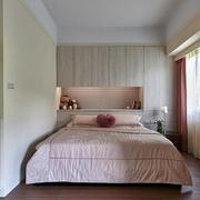 小户型卧室床头置物柜