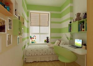 大户型自然风格儿童房设计装修效果图
