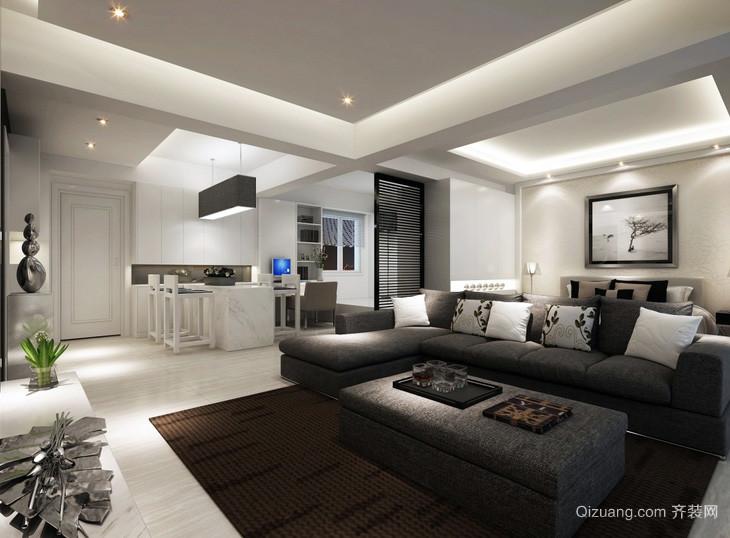 三居室宜家风格客厅装修效果图