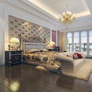卧室床头背景墙造型图
