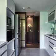 小户型厨房不锈钢橱柜