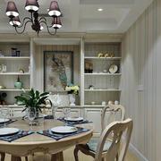 三室两厅简约欧式餐厅装饰