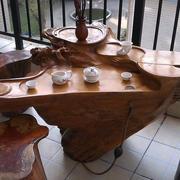 别具匠心的阳台根雕茶几装修效果图片
