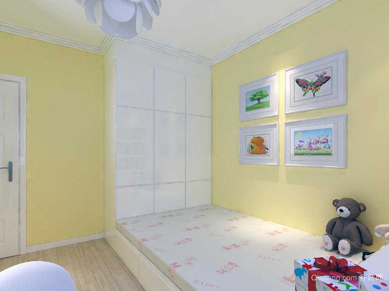 现代大户型都市儿童房设计装修效果图