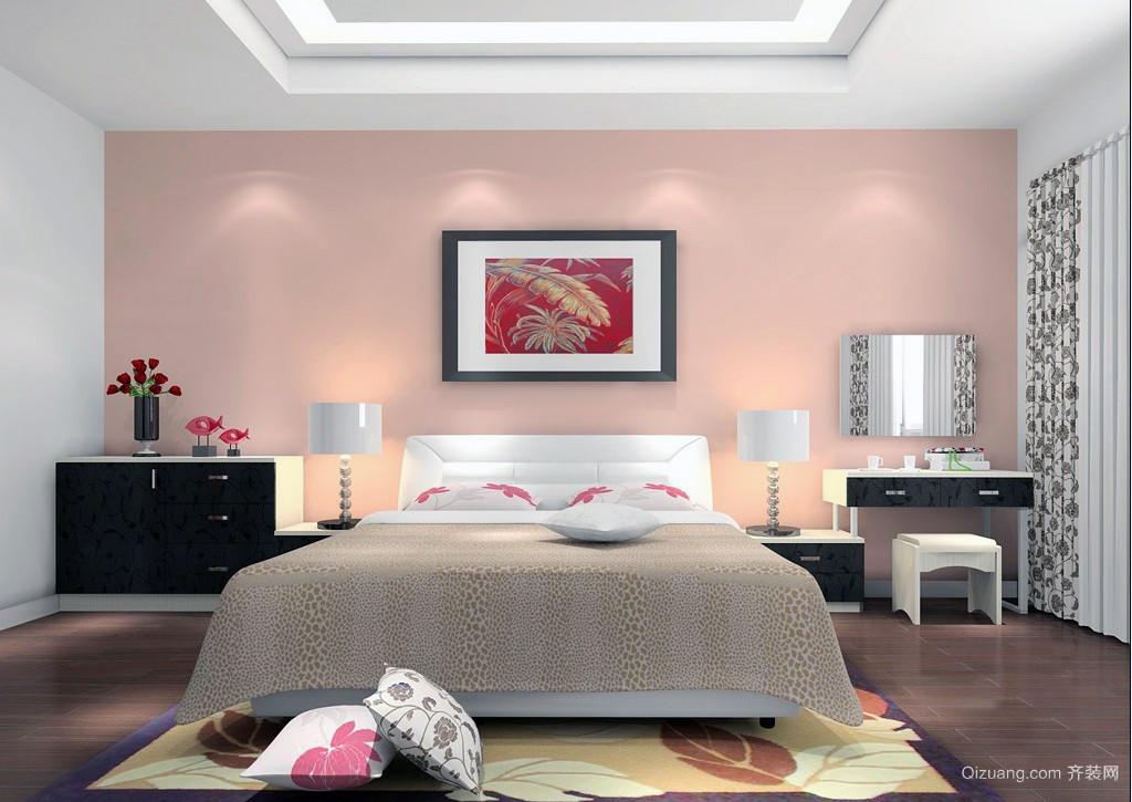 别有洞天:30㎡温馨宜家小户型卧室装修图
