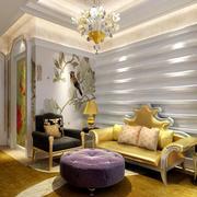 超有艺术感的小公寓欧式沙发装修效果图片